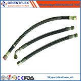 Boyau tressé de frein d'acier flexible du POINT SAE J1401