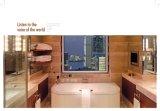 Rek van de Handdoek van het messing eindigt het Enige met Staaf 390524 van de Handdoek Goud PVD