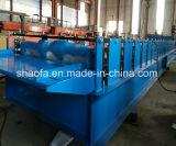 PPGIの機械を形作る鋼鉄波形の屋根ふきシートロール