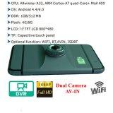 """Cámara androide caliente del coche de la venta 7.0 """" HD1080p con GPS WiFi; G-Sensor; WDR; Función DVR-7029 de la visión nocturna"""