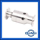 Válvula de descarga de presión ajustable sanitaria inoxidable 316L del acero 304