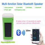 Giocatore di musica solare di Bluetooth di illuminazione della torcia elettrica di sport esterni LED con la torcia Emergency