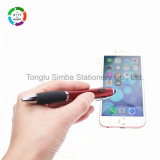 2017 New Light Plastic Ball Points Pen Stylus Pen Office Supply for Promotional Gift