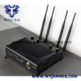 Telefone celular de mesa ajustável e WiFi Jammer com controle remoto