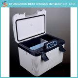 携帯用車冷却装置フリーザー冷却装置DC 12Vキャンプするポータブル24リットルの