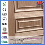 Interior de armario de madera maciza de Sapele losa/Rojo Walnutveneer Puertas (JHK-M03)