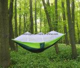 Het kamperen Hangmat, de Dubbele Hangmat van de Stof van de Klamboe van de Hangmat Trofong Nylon voor Strand, het Reizen, Wandeling, Berg, Avontuur, OpenluchtWildernis Esg10274