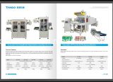 Manuel de PVC Semi-Auto Etiquette du flacon le manchon d'étiquetage de la vapeur de la machine tunnel de rétraction