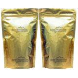 防水カスタム印刷のジッパーの上のクラフト紙のコーヒーバッグ