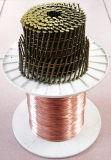 Er70s-6溶接材料の消耗品はArの電極の銅によって塗られたワイヤーを水中に沈めた
