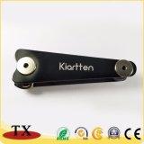Moderne kundenspezifische Form-Metallaluminiumschlüsselkette und Schlüssel-Organisator