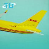 Harz-flaches Modell für B757-200 DHL 32cm Flugzeug-Modell