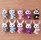 대화식 애완 동물 아이의 장난감으로 전자 원숭이 판다 다람쥐 Unicorn 나태 토끼 아기 토끼
