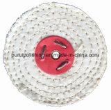 """roue de polissage de polissage du sisal 4 """" X1 """" pour le métal"""