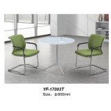 현대 가구 유럽 디자인 강화 유리 커피용 탁자 (YF-T17003)