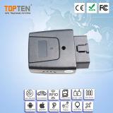 Veicolo in tempo reale dell'automobile di OBD GPS che segue con il motore sull'allarme (TK208-ER)
