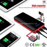 22400mAh力バンクの超高容量外部電池3 USBの出力iPhone、iPad、Samsung、NexuのためのLEDの懐中電燈の携帯用充電器が付いている外部電池のパック