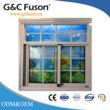 Окно цены по прейскуранту завода-изготовителя алюминиевое стеклянное сползая сделанное в Китае