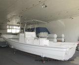 Ce del barco de pesca de la consola de centro del barco de la fibra de Liya los 25FT aprobado