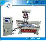 3 cabeça de fuso CNC Automático de máquinas de gabinete
