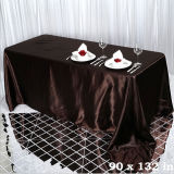 Toalha de retângulo cor escura para a TEAL Casamento Decoração de Natal no exterior