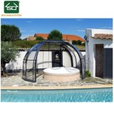 Enceinte de piscine spa télescopique avec châssis en aluminium