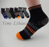Qualitäts-Jungen-Kind-Viertelmannschafts-Socken mit Senkfußeinlage