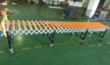 Flexible Schwerkraft-Rollen-Förderanlage/ausdehnbare Förderanlage/industrielles Geräten-flexible expandierbare Rollen-Förderanlage