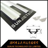 LED 지구 빛을%s 양극 처리된 6063 T5 알루미늄 LED 단면도
