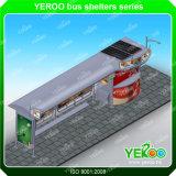 Hot Sale Bus Bus Shelter-Outdoor Publicité Conception Shelte Shelte-Unique Bus
