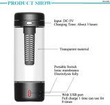 Novo Item garrafa de água de hidrogénio alcalina copo de água de hidrogénio com carregador USB para a saúde do corpo do fabricante Yiwu