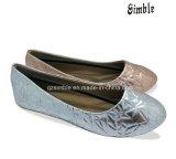 De Schoenen van de ballerina met het Bovenleer van Pu voor Kinderen en Dame om te dragen
