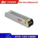 alimentazione elettrica di 12V 8A LED con le HTC-Serie della Banca dei Regolamenti Internazionali di RoHS del Ce