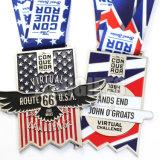 Médaille faite sur commande personnalisée de sport pour l'Ecosse BRITANNIQUE