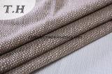 100% poliéster tejido de lino de polipropileno para sofás y muebles (FTD31077)