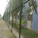 溶接された金網の塀の/PVCの上塗を施してある金網の塀または金属の庭の塀
