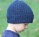 Детей дети осенью зимой теплый трикотажные Slouchy Креста колпачки Beanie обычная Beanie Red Hat (HW620)
