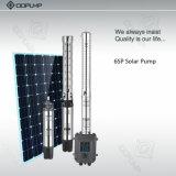 30HP el sistema casero solar, bombas de agua solares para los receptores de papel, bombea solar