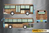 Vinyle de décoration auto-adhésif amovible d'impression pour le véhicule/bus/métro