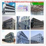 Casa prefabricada en la construcción de la villa, casa, Casa contenedor para los trabajadores de oficina