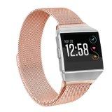 Pulseira de Loop Milansese mais recente para troca iónica Fitbit Pulseiras, para a faixa de relógio Milanese Iônico Fitbit