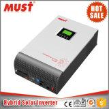 Inverseur solaire pur de l'onde sinusoïdale 5kVA pour la fréquence avec le contrôleur solaire de charge de 80A MPPT