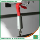 Antirrobo Stoplock rojo duro de RF EAS de parada de la etiqueta de cierre de gancho de la madre