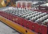 La fabrication de profil de tuile de toiture de PPGI laminent à froid former la machine