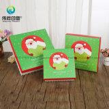 Impreso de OEM de manzanas de la Navidad la impresión de embalaje