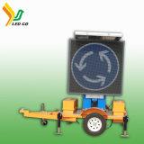 Poteaux de signalisation solaires de vente chauds de l'usine DEL de la Chine