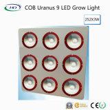 High-Brightness COB Urano 9 LED luz crecer para el cultivo comercial