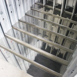 Sola Hoja de hierro principal de moderno diseño de la puerta de seguridad