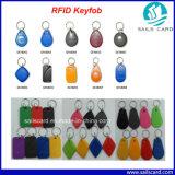 Desfire EV1 8k Keychains RFID para sistema de participação de RFID