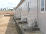 Prefabricated 가벼운 강철 구조물 색깔 입히는 강철 위원회 Mobil 집